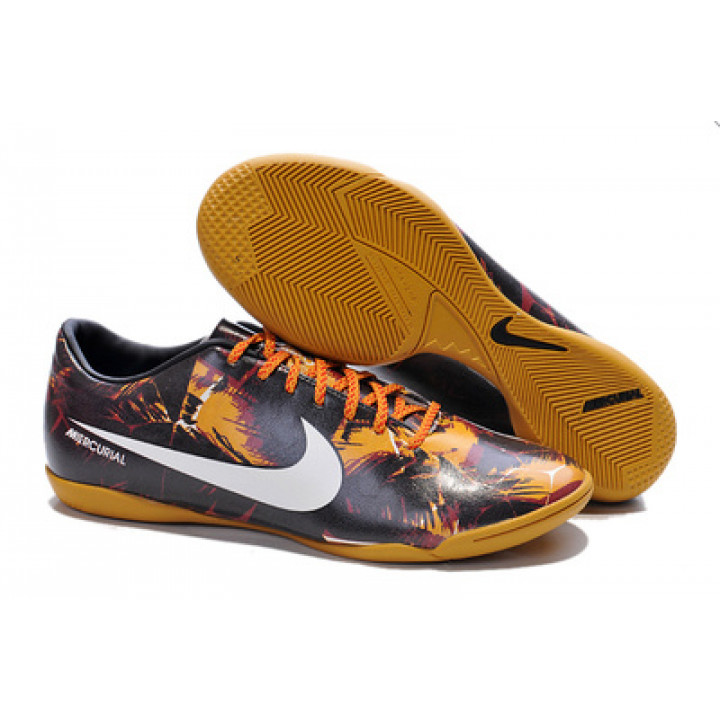 Футзалки Nike mercurial, коричневый